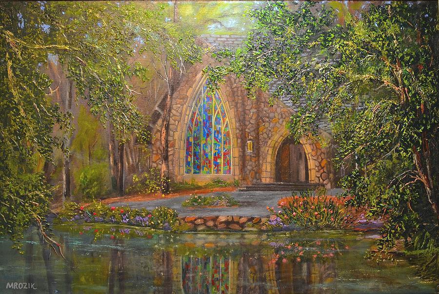 Chapel At Callaway Painting