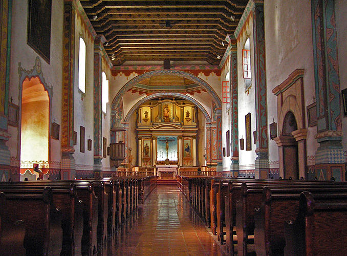 Chapel At Mission San Luis Rey Photograph by Chuck Cannova