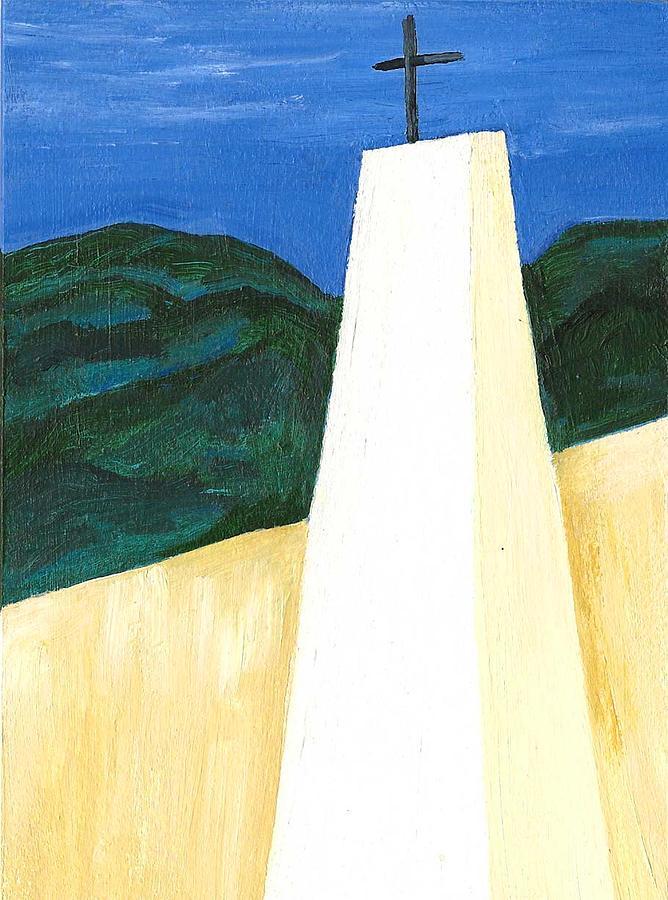Costa Rica Painting - Chapel En Pinares by Susan Macdonald