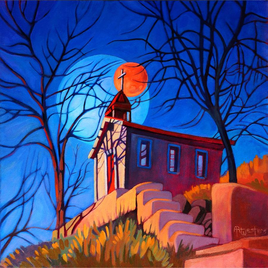Chapel on the Hill by Art West