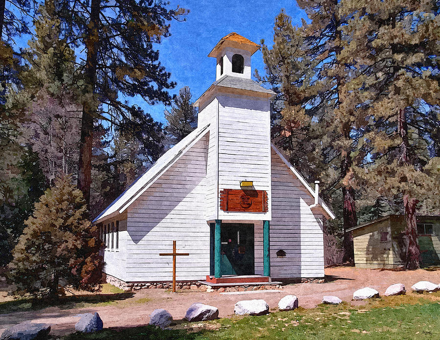 Worship Photograph - Chapel On The Mountain by Glenn McCarthy Art and Photography