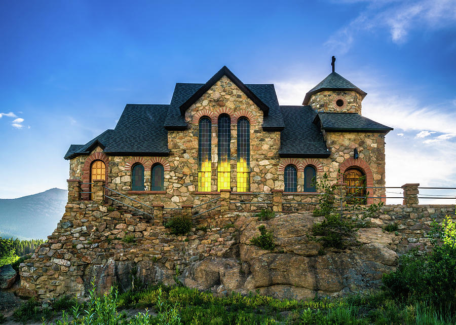 Rocky Mountain National Park Photograph - Chapel On The Rock by TL Mair