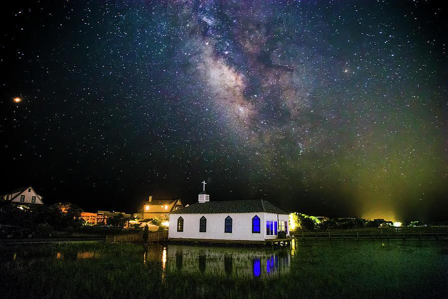 Chapel Under The Milky Way by Robbie Bischoff