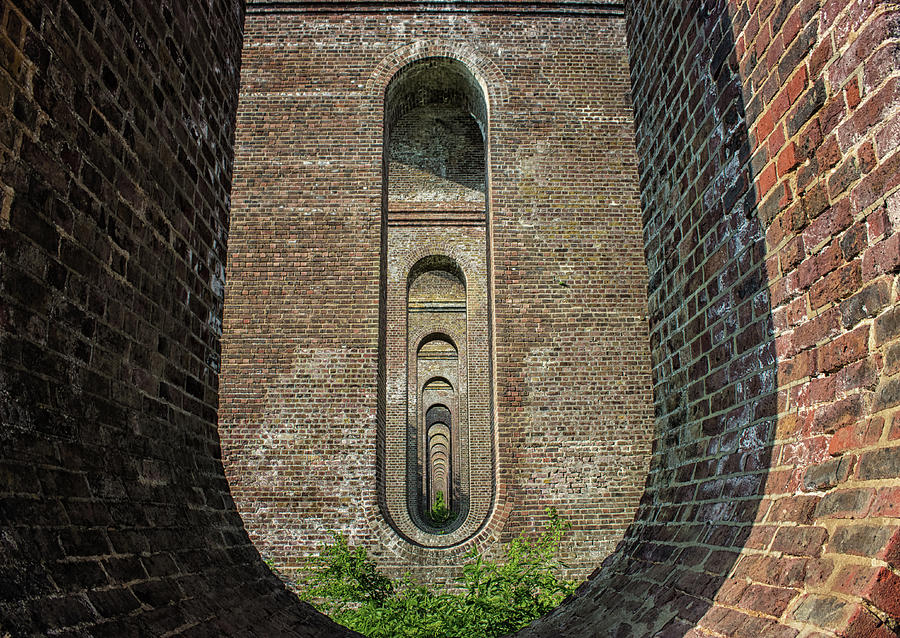 Viaduct Photograph - Chapel Viaduct by Martin Newman
