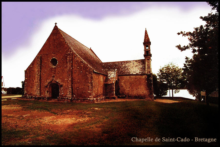 Bretagne Digital Art - Chapelle De Saint-cado by Franz Roth