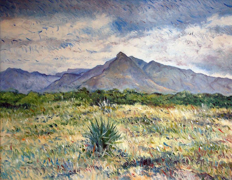 Landscape Painting - Chapmans Peak Cape Peninsula South Africa by Enver Larney