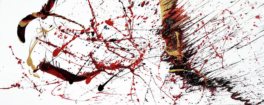 Contemporary Abstract Painting - Chapter 1 - 26 April 15h00 by Tylo Jacobs