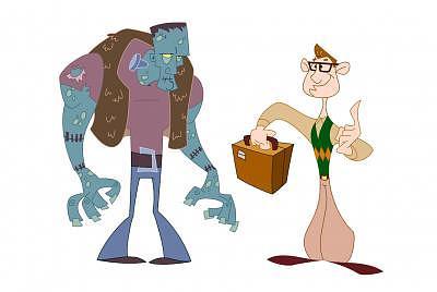 Frankenstein Digital Art - Character Designs by Zee Risek