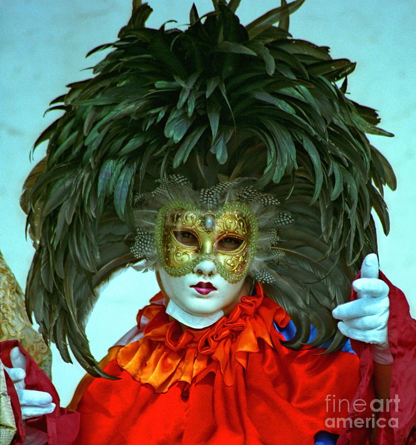 Venice Photograph - Character In Venice by Michael Henderson