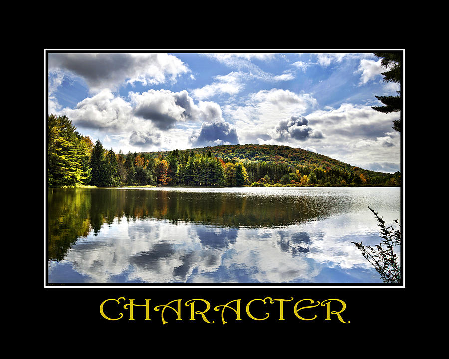 Character Mixed Media - Character Inspirational Motivational Poster Art by Christina Rollo