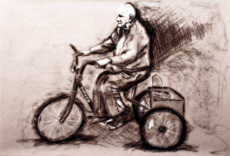 Charcoal Drawing Of Pedal To The Metal By Ayasha Loya Drawing
