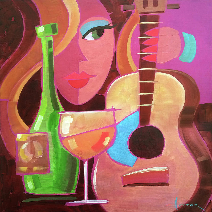 Chardonay by Larry Hunter