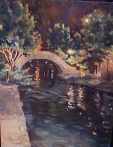 Bridge Painting - Charl Ann Mitchell by Charl Ann Mitchell