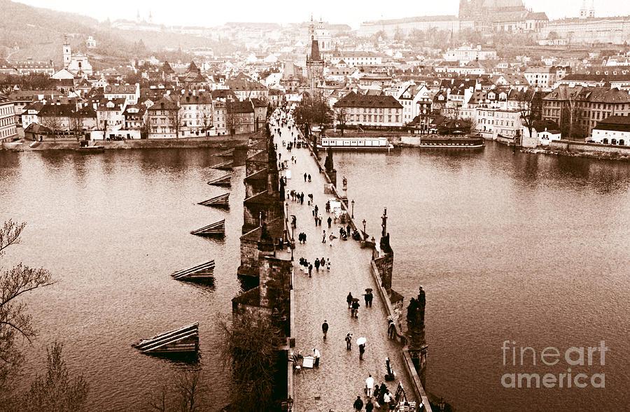 Charles Bridge Photograph - Charles Bridge II by John Rizzuto