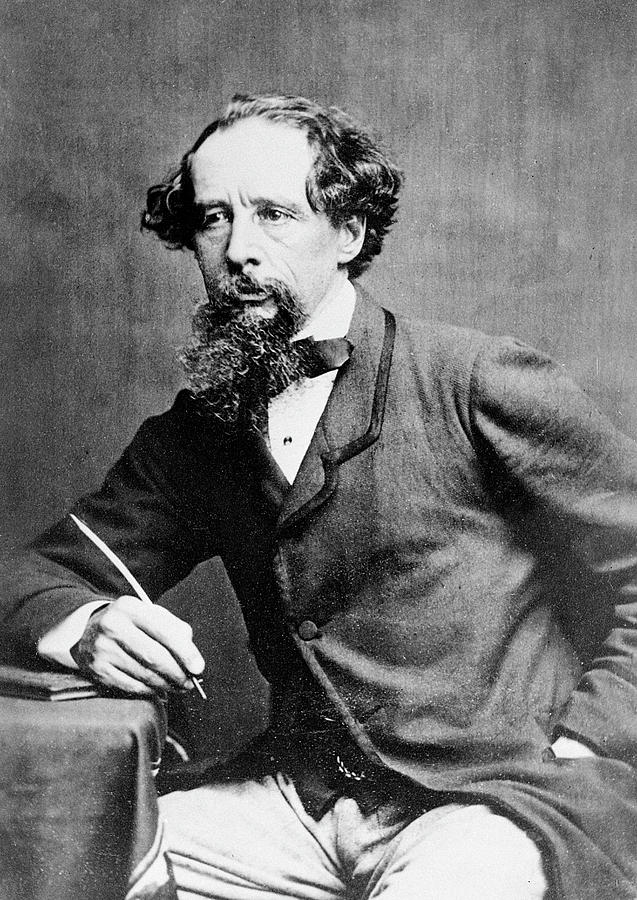Charles Dickens Photograph by Herbert Watkins
