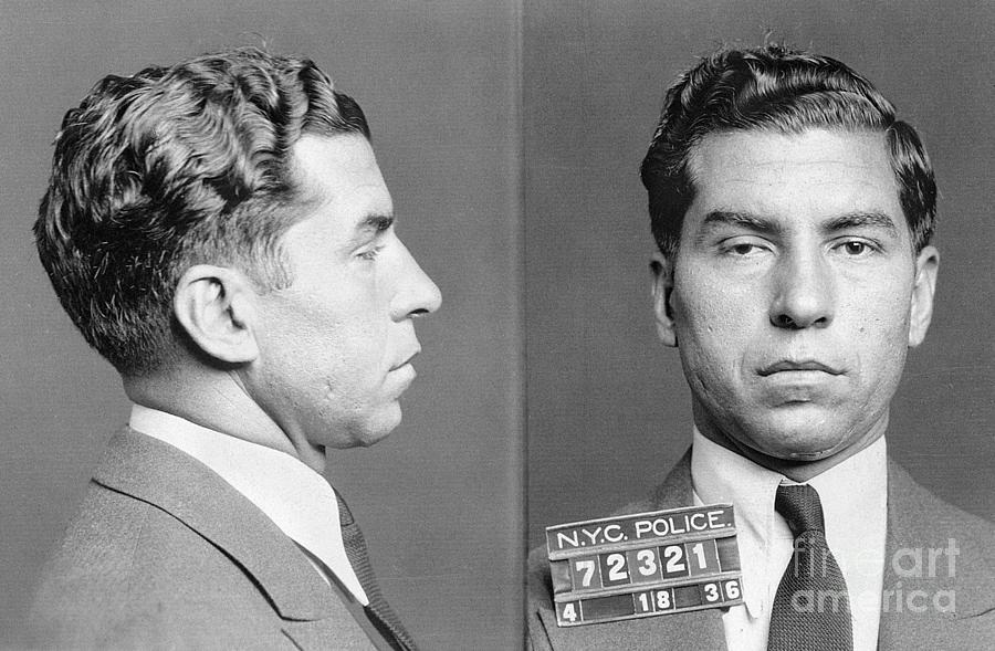 1936 Photograph - Charles Lucky Luciano by Granger