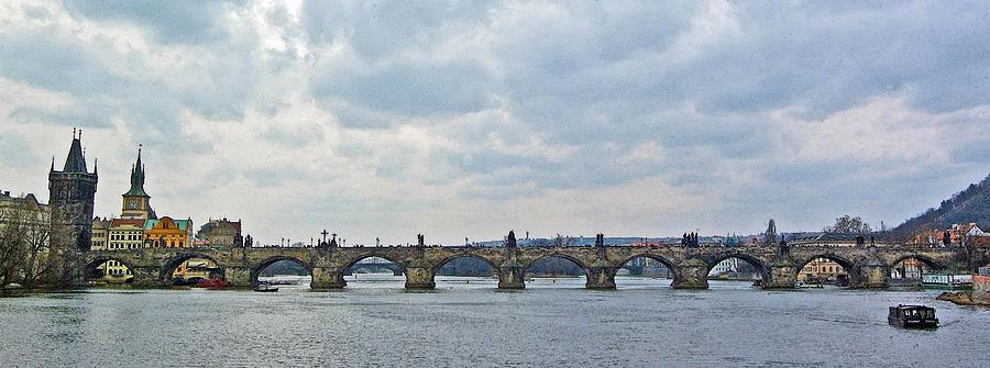 Charles Street Bridge Digital Art - Charles Street Bridge by Paul Pobiak