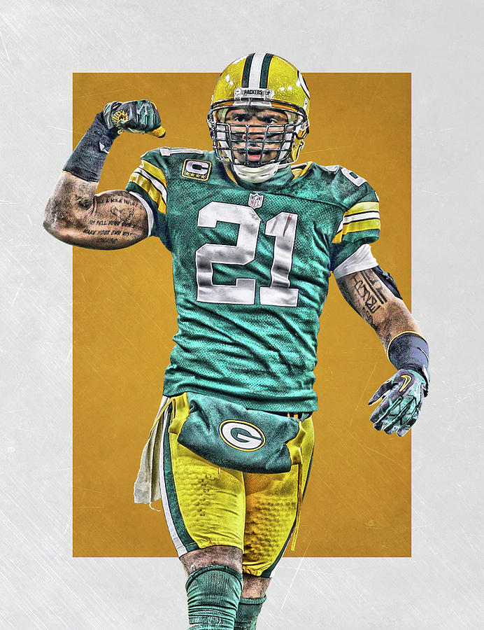 newest collection d4108 8af5a Charles Woodson Green Bay Packers Art