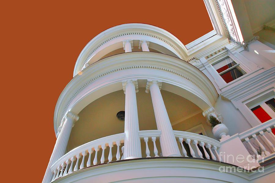 Charleston Photograph - Charleston Architecture by Wendy Mogul