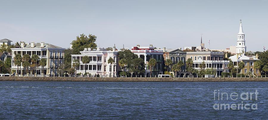 Charleston Battery Row Panorama 2 Photograph