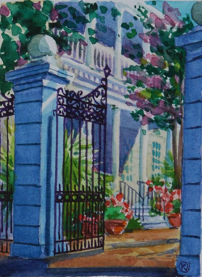 Lanscape Painting - Charleston by Marina Bare