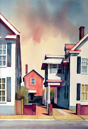 Architecture Painting - Charleston Memory by Richard Staat