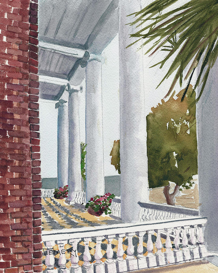Charleston Piazza by Trish Emery