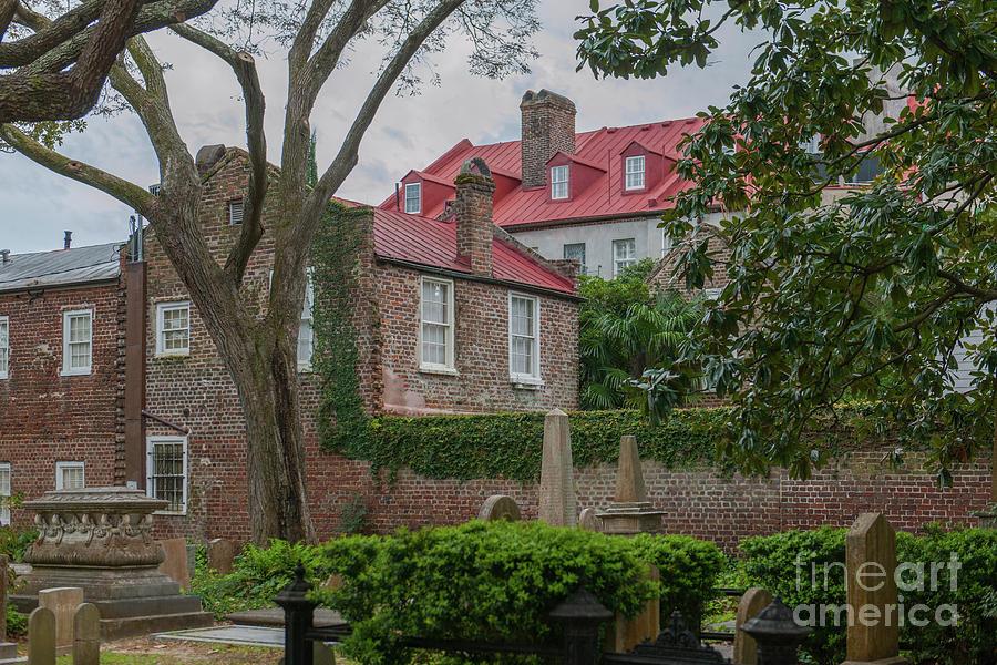 Charleston Sc Cemetary Photograph