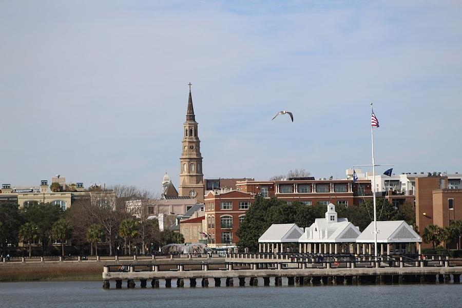 Charleston Photograph - Charleston Skyline by Doug Dickerson