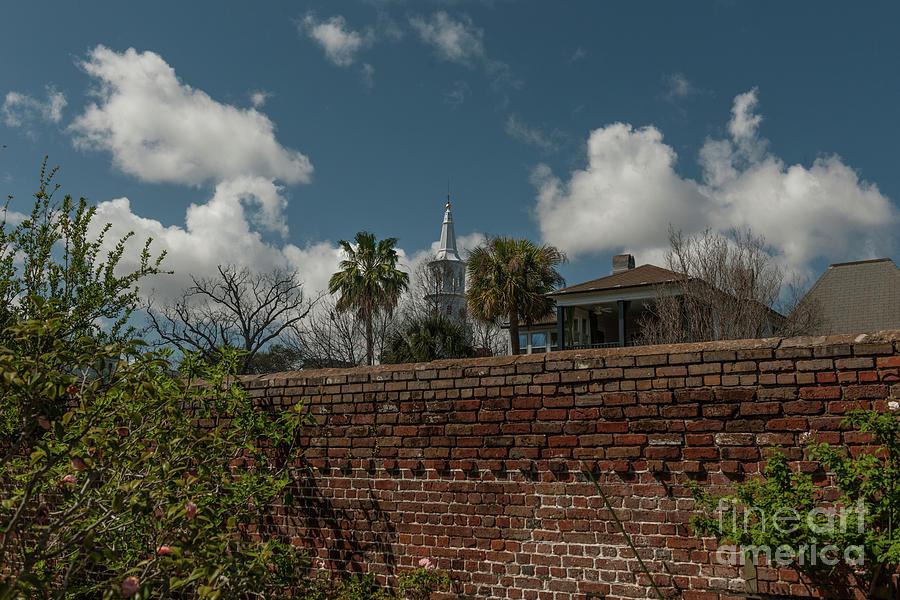Charleston Walled Garden Photograph