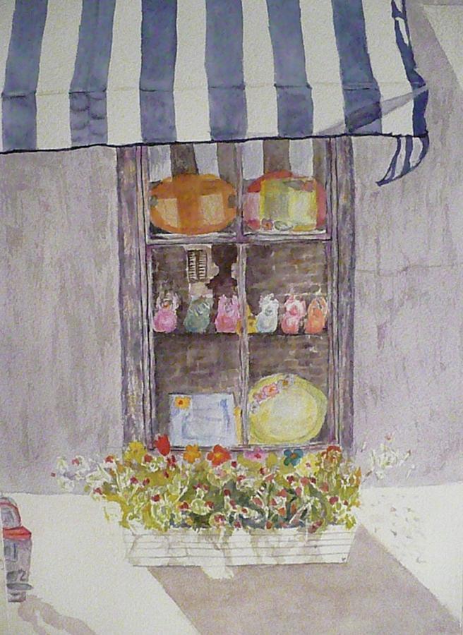 Charleston Painting - Charleston Window by Stella Schaefer