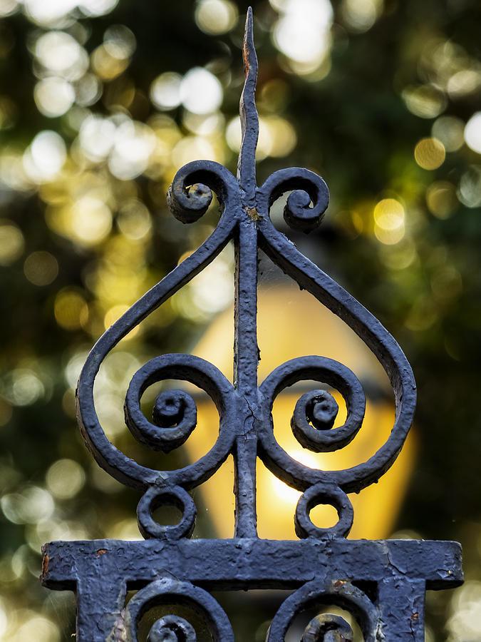 Wrought Iron Photograph - Charleston Wrought Iron by David Kay