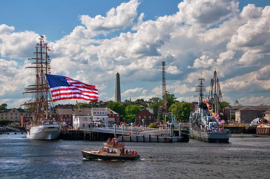 Charlestown Navy Yard - Boston Photograph by Joann Vitali