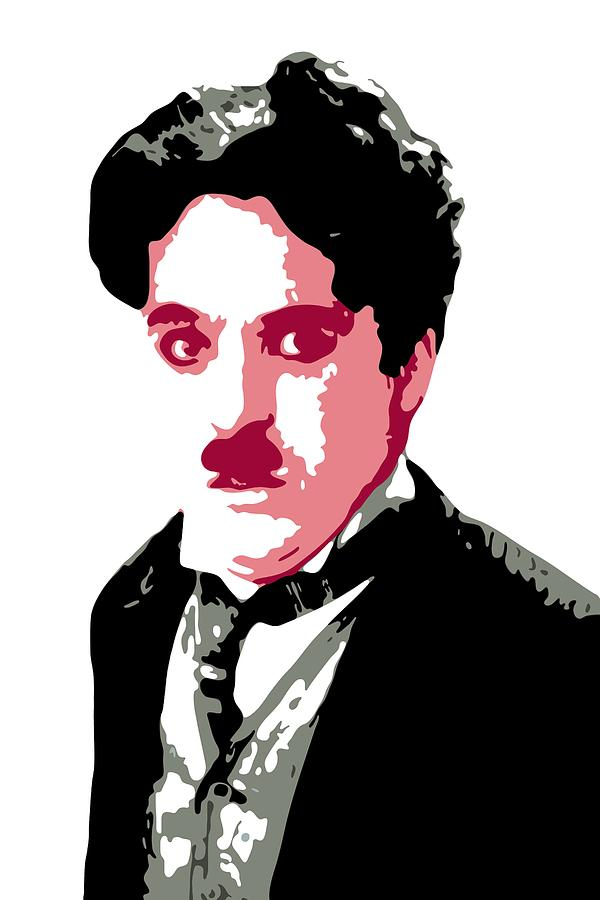 Charlie Chaplin Digital Art - Charlie Chaplin by DB Artist