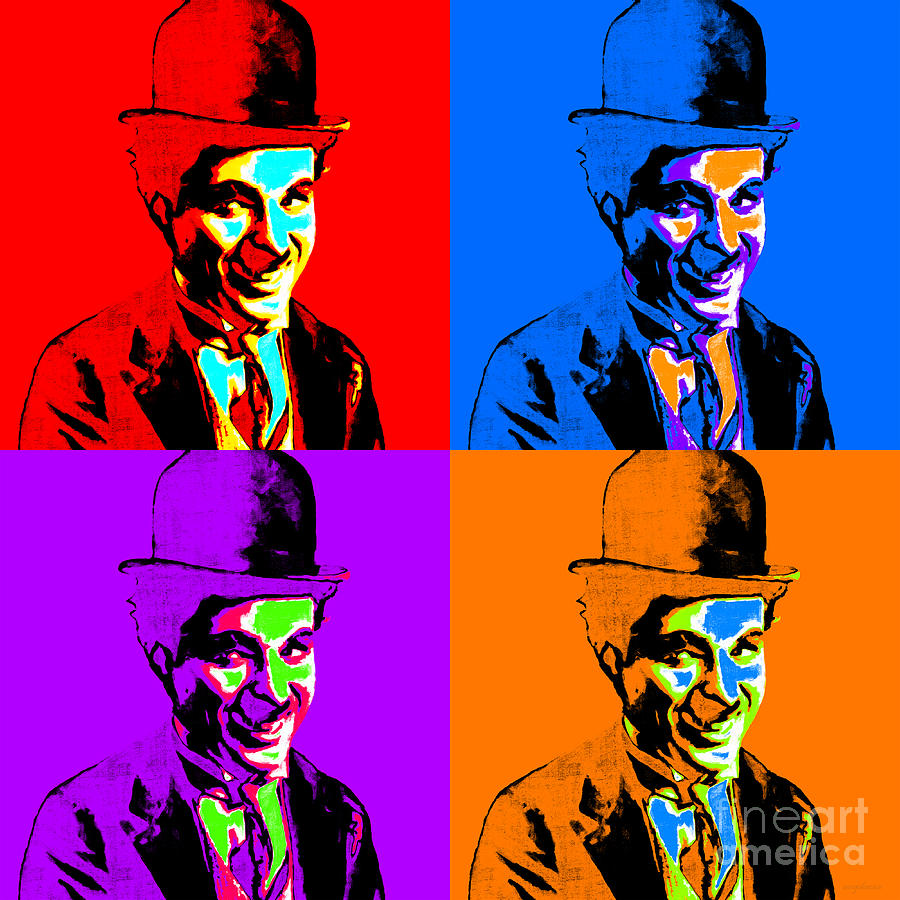 Charlie Photograph - Charlie Chaplin Four 20130212 by Wingsdomain Art and Photography