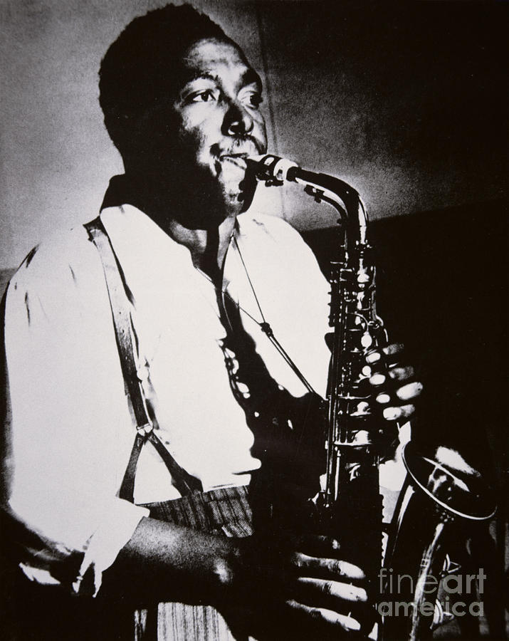 Charlie Parker Photograph - Charlie Parker by American School