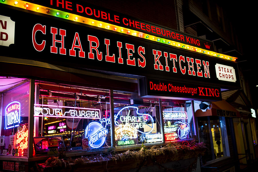charlies photograph charlies kitchen cambridge ma harvard square by toby mcguire - Charlies Kitchen