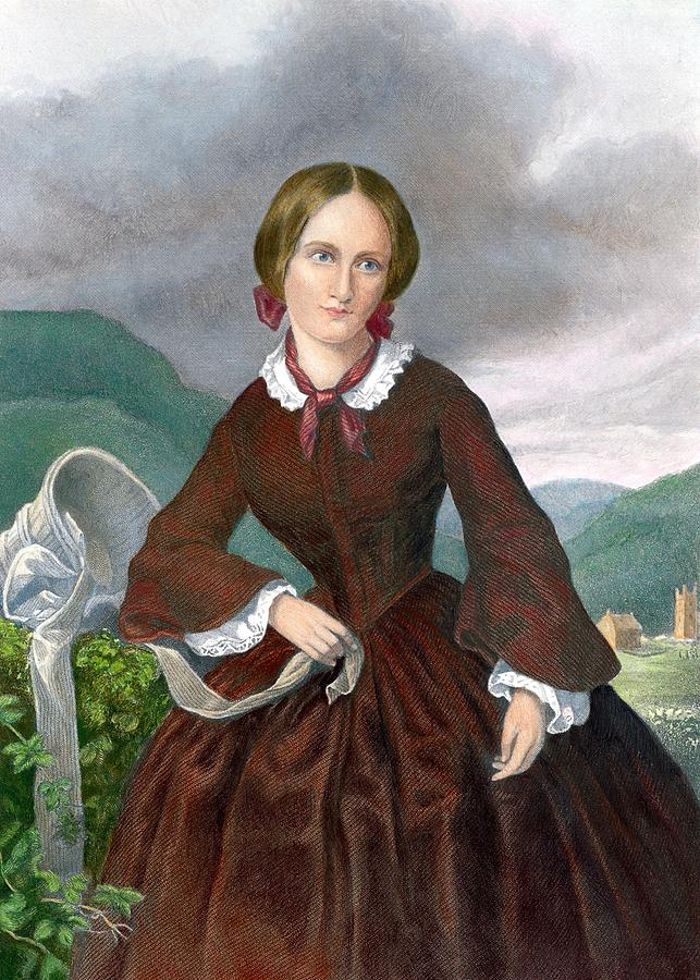History Photograph - Charlotte Bronte 1816-1855 English by Everett