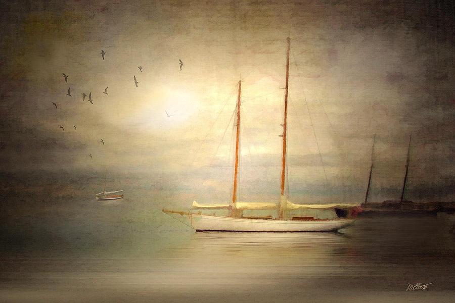 Ship Digital Art - Charlotte by Michael Petrizzo