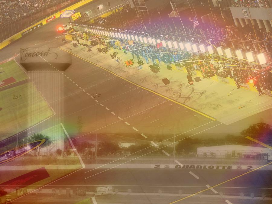 Charlotte Motor Speedway Photograph