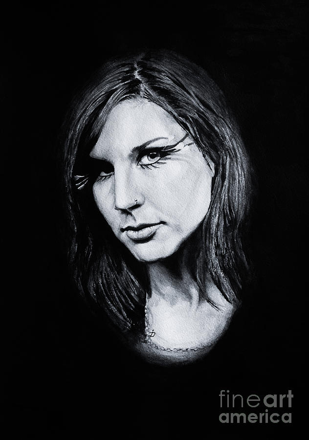 Watercolor Painting - Charlotte Wessels. by Dioptri Art