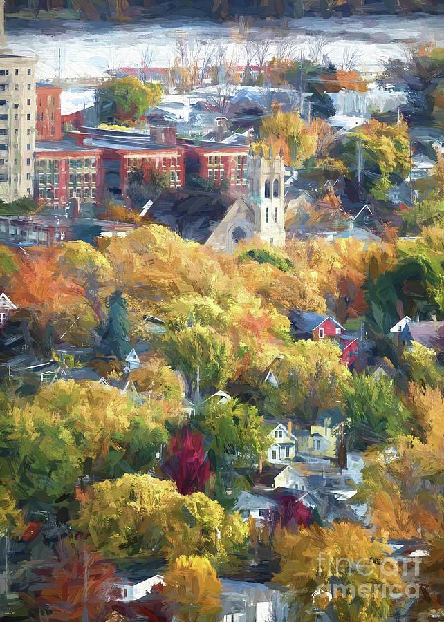 Charming St. Martin's Church Winona Minnesota by Kari Yearous