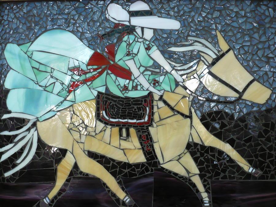 Woman Glass Art - Charra by Ann Salas