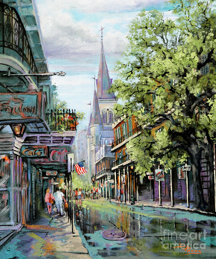 Chartres Rain by Dianne Parks