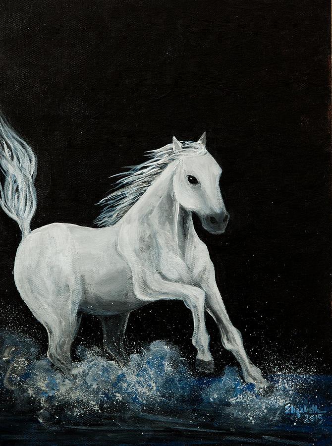 Horse Painting - Chase by Elizabeth Mundaden