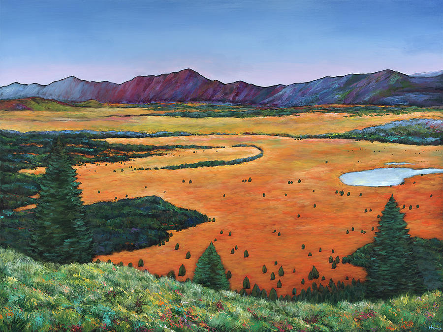 Wyoming Painting - Chasing Heaven by Johnathan Harris