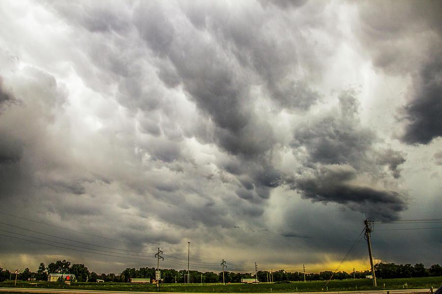 Cloudscape Photograph - Chasing Nebraska Stormscapes 046 by NebraskaSC
