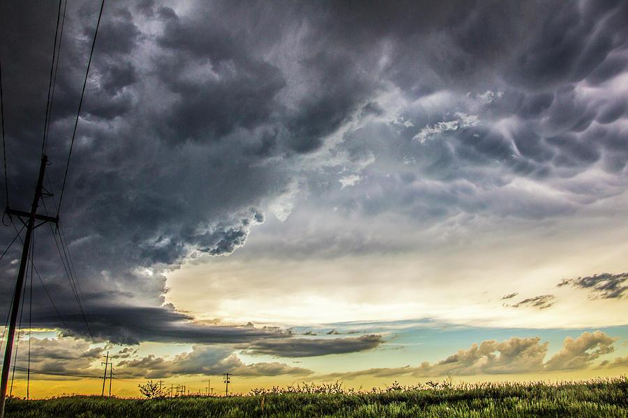 Cloudscape Photograph - Chasing Nebraska Stormscapes 047 by NebraskaSC