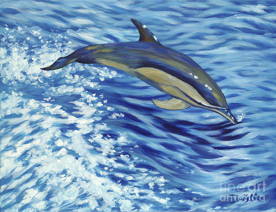 Atlantic Painting - Chasing You by Danielle  Perry