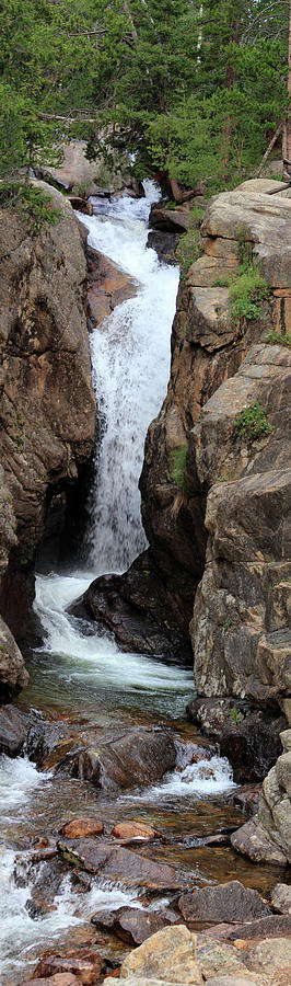 Chasm Falls 2 - Panorama Photograph by Shane Bechler